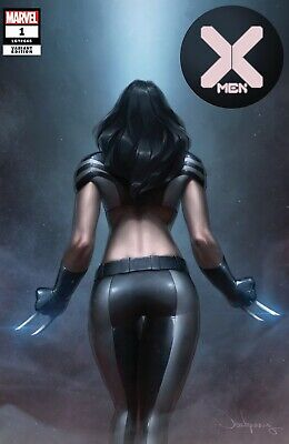 X-Men 1 DX Marvel Jeehyung Lee X-23 Wolverine Virgin Set Variant Powers Of X 2