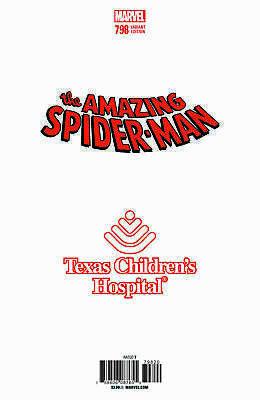 Amazing Spider-man #798 B&W Virgin Greg Land Store Variant Comic 1st Red Goblin