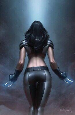 X-Men 1 DX Marvel Jeehyung Lee X-23 Wolverine Virgin Set Variant Powers Of X 3