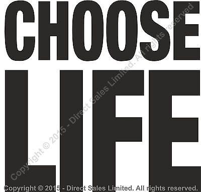 CHOOSE LIFE T Shirt Wham Replica George Michael 80s Retro Fancy Dress S-3XL Lot 8