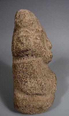 Costa Rica Nicoya Carved Stone Anthropomorphic Idol Statue ca. 500-800 AD 8