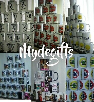Personalised Mug Collage Photo Image Pictures Add Any Text Gift Tea Coffee Cup 3