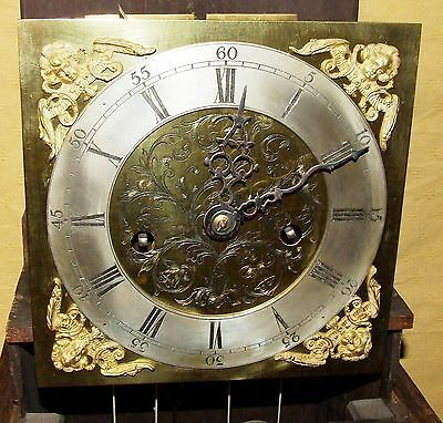 Antique 8 Day Miniature Grandfather / Grandmother Clock : Weight Driven Movement 4