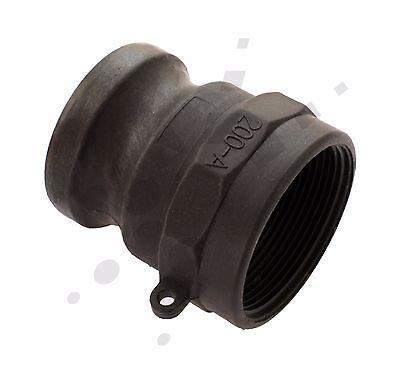 "2"" inch BSP Hosetail Camlock Set | Type A C | Poly | 50mm | Fire Pump Tank"