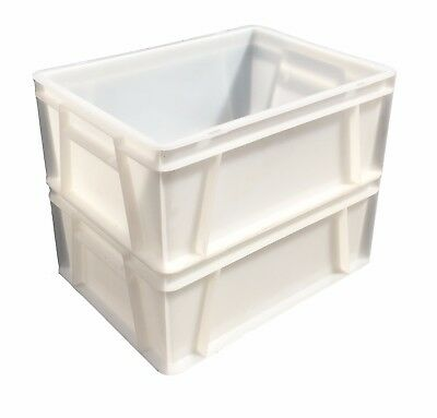 40 x 30cm Plastic Stacking Food Grade Catering Euro Box Tray Commercial Quality! 2