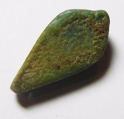 Zurqieh- Af720- Ancient Egypt, New Kingdom Faience Bead / Pendant. 1400 B.c 4