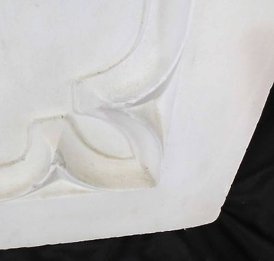 Antique Architectural Religious Italian Carved Marble Altar Angel/Cherub PANEL#1 6
