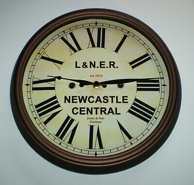 London North Eastern Railway LNER Style Clock, Newcastle Station. 3