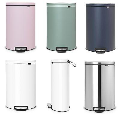 Brabantia design Abfallsammler FLATBACK Treteimer 30L Mülleimer Top Qualität
