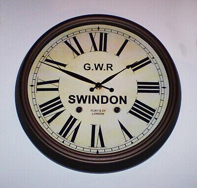 Great Western Railway GWR Victorian Style Clock, Swindon Station 3