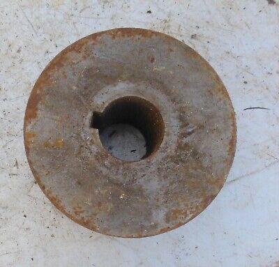 alt Welle Riemenscheibe Umlenkrolle dreifach Eisen Keilriemenscheibe 3 fach 5 kg 2