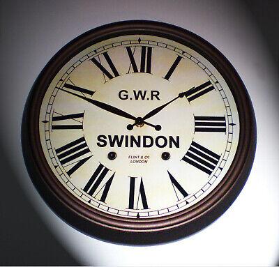 Great Western Railway GWR Victorian Style Clock, Swindon Station 2