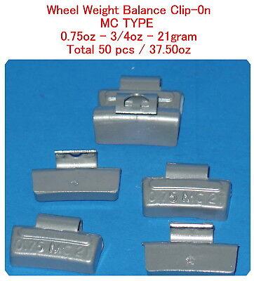 Assort 300 Pc Clip-on Wheel Weight Balance Type MC 0.25 0.50 0.75 1.0 1.25 1.50z 4