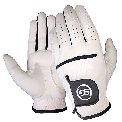 5 SG Men All weather golf gloves Cabretta leather palm patch and thumb 5 colors 6