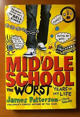 3 James Patterson Middle School Worst Years, Big Fat Liar & House of Robots 2