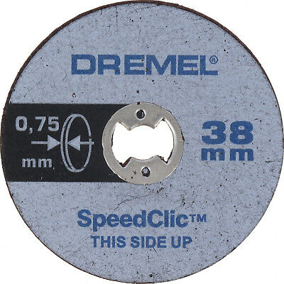Dremel SC409 S409 EZ SpeedClic Thin Cutting Wheels 5-Pack 3