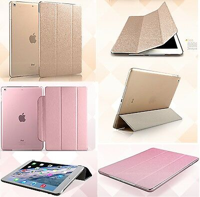 UK Fashion Color Smart Leather Cover Case For Apple iPad 2 3 4 Air Pro Mini