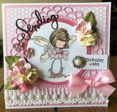 Happy Birthday Handmade Greeting Card 599 Picclick