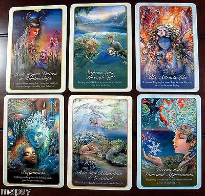 NEW Whispers of Love Oracle Cards Tarot Angela Hartfield Josephine Wall psychic 8
