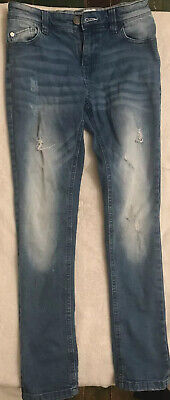 Fantastic Boys NEXT Distressed Skinny Jeans Age 11 Years 2