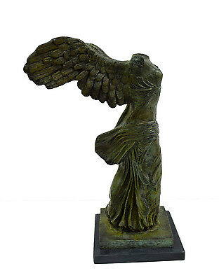 Nike Ancient Greek Winged Victory of Samothrace Bronze statue artifact 4