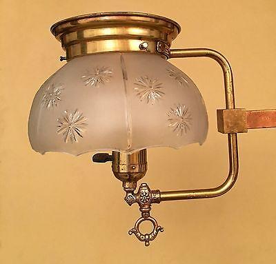 Vintage Lighting circa 1910 converted gas pendant 3