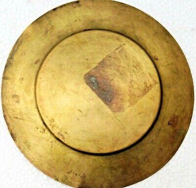 VINTAGE EGYPT AIR brass PLATE Pharaoh Royal Musical Isis For Love 3