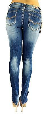 Machine Jeans Womens Juniors PLUS SIZE Ripped Destroyed Distressed Denim pants