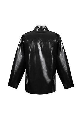 PVC Anzug als Latex  Schutzkleidung Schutzanzug Säure Laugen  Basen