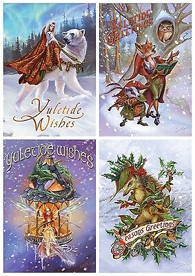Briar yule midwinter solstice greeting card alternative christmas 1 of 5free shipping briar yule midwinter solstice greeting card alternative christmas pagan wiccan m4hsunfo
