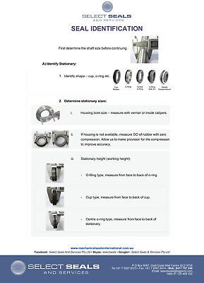 South Pump Seal CDLF2-220 Mechanical Seal - 12 mm Grundfos Multi stage 3