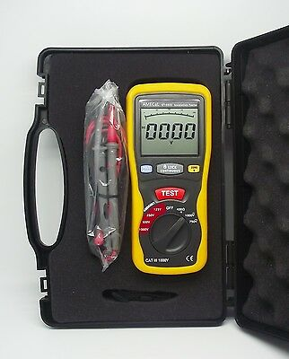 Insulation Tester Equiv: Continuity / Low Ohms / Megohm Meter AMECaL ST-5505 5