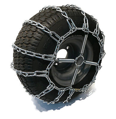 2 Link TIRE CHAINS /& TENSIONERS 23x10.5x12 for Toro Wheel Horse Mower Tractor