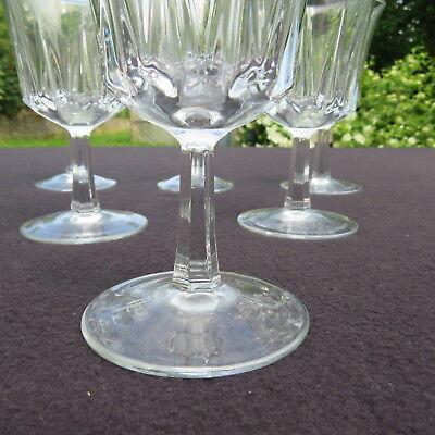 6 verres eau en cristal d arques mod le versailles eur 25 00 picclick fr. Black Bedroom Furniture Sets. Home Design Ideas