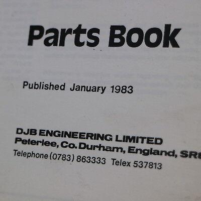 CATERPILLAR DJB D330 Articulated Dump Truck Parts Manual Book Catalog Quarry Cat
