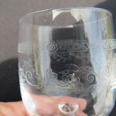 6 verres a vin rouge  en cristal d arques modèle Matignon 18 cl 7