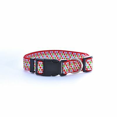 Adjustable Suitable Nylon Pet Puppy Cat Dog Collar Buckle XS S M L Free Shipping 3