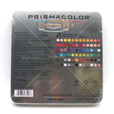 [PRISMACOLOR] Premier Soft Core Colored Pencils 72 Colored Pencils Set 2