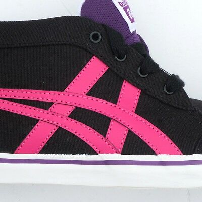 Womens Girls Onitsuka Tiger Renshi Mid Canvas Fashion Trainers Sneakers Size 7