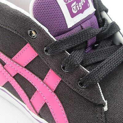 Womens Girls Onitsuka Tiger Renshi Mid Canvas Fashion Trainers Sneakers Size 4