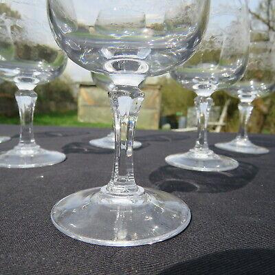 6 verres a vin rouge  en cristal d arques modèle Matignon 18 cl 4