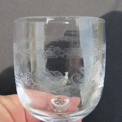 6 verres a vin rouge  en cristal d arques modèle Matignon 18 cl 6