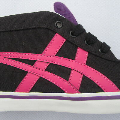 Womens Girls Onitsuka Tiger Renshi Mid Canvas Fashion Trainers Sneakers Size 5