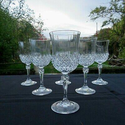 6 verres à porto en cristal d arques modèle valencay 2
