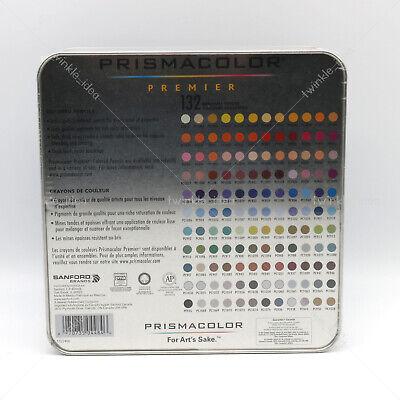 [Prismacolor] Premier Soft Core Colored Pencils 132 Colored Pencils Set 4
