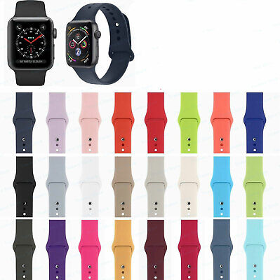 Silicone Bracelet Band Strap Sports Bands For Apple Watch iWatch Series 1/2/3/4 2