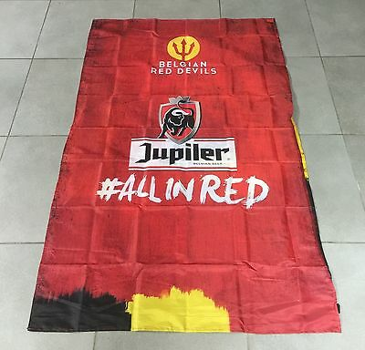 MAILLOT FOOTBALL BIERE BELGE BEER BIER JUPILER RED DEVILS EURO 2016 # ALL IN RED