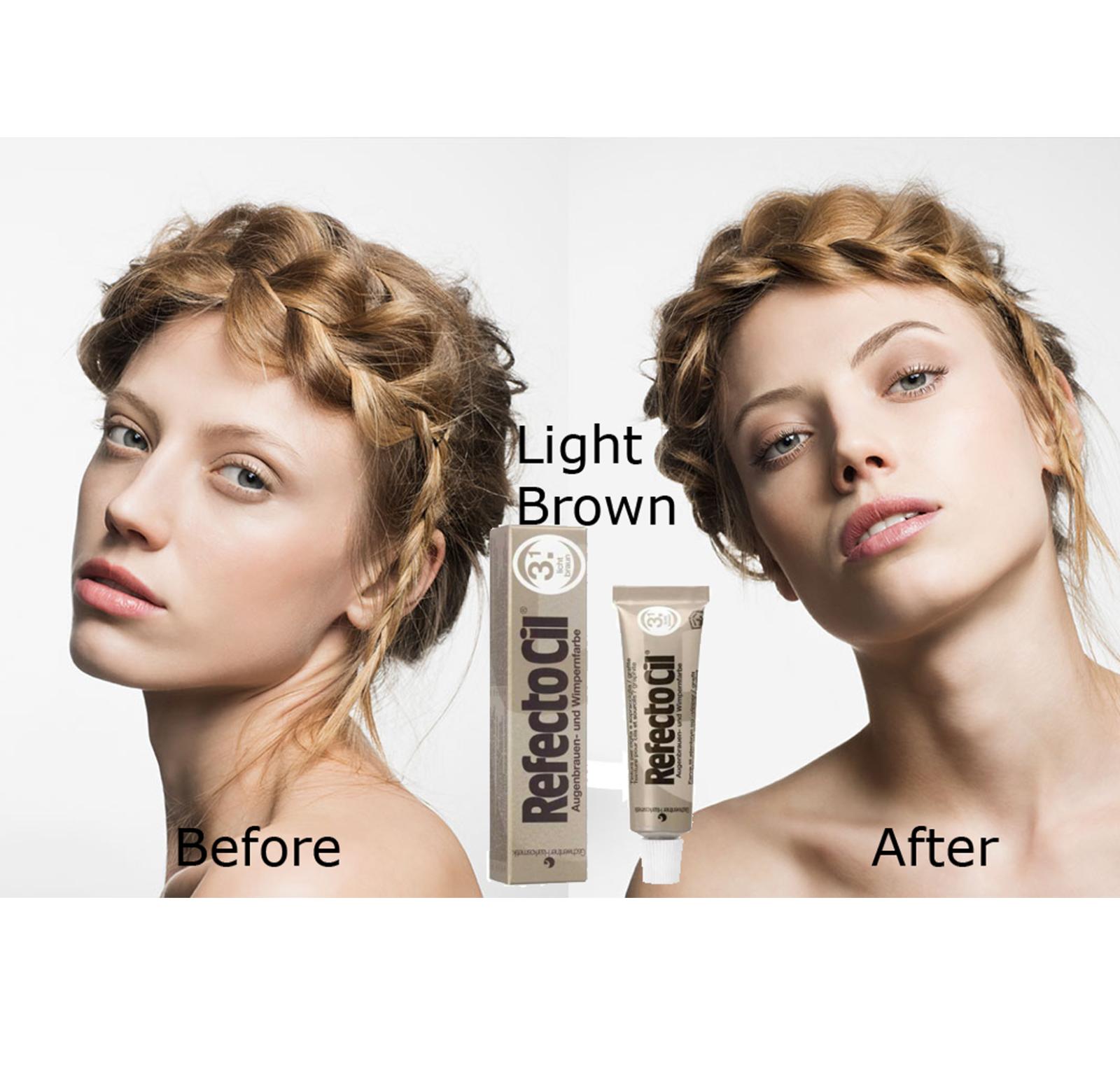 RefectoCil Eyebrow Tint Black Natural Brown Eyelash Tinting Dye Henna 15ml 7