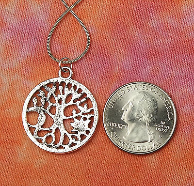 Sun & Moon Tree of Life Necklace, for Men or Women, Celestial Roots TOL Pendant 2