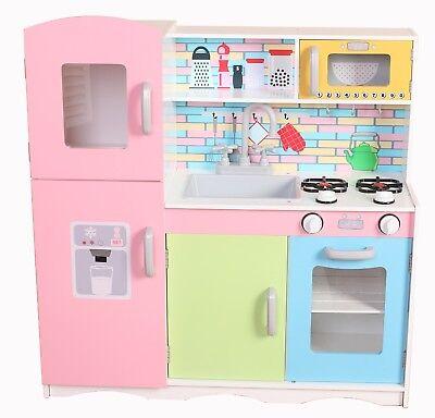 Kiddi Style Superior Little-Helper XLarge Childrens Kids Play Toy Wooden Kitchen 4